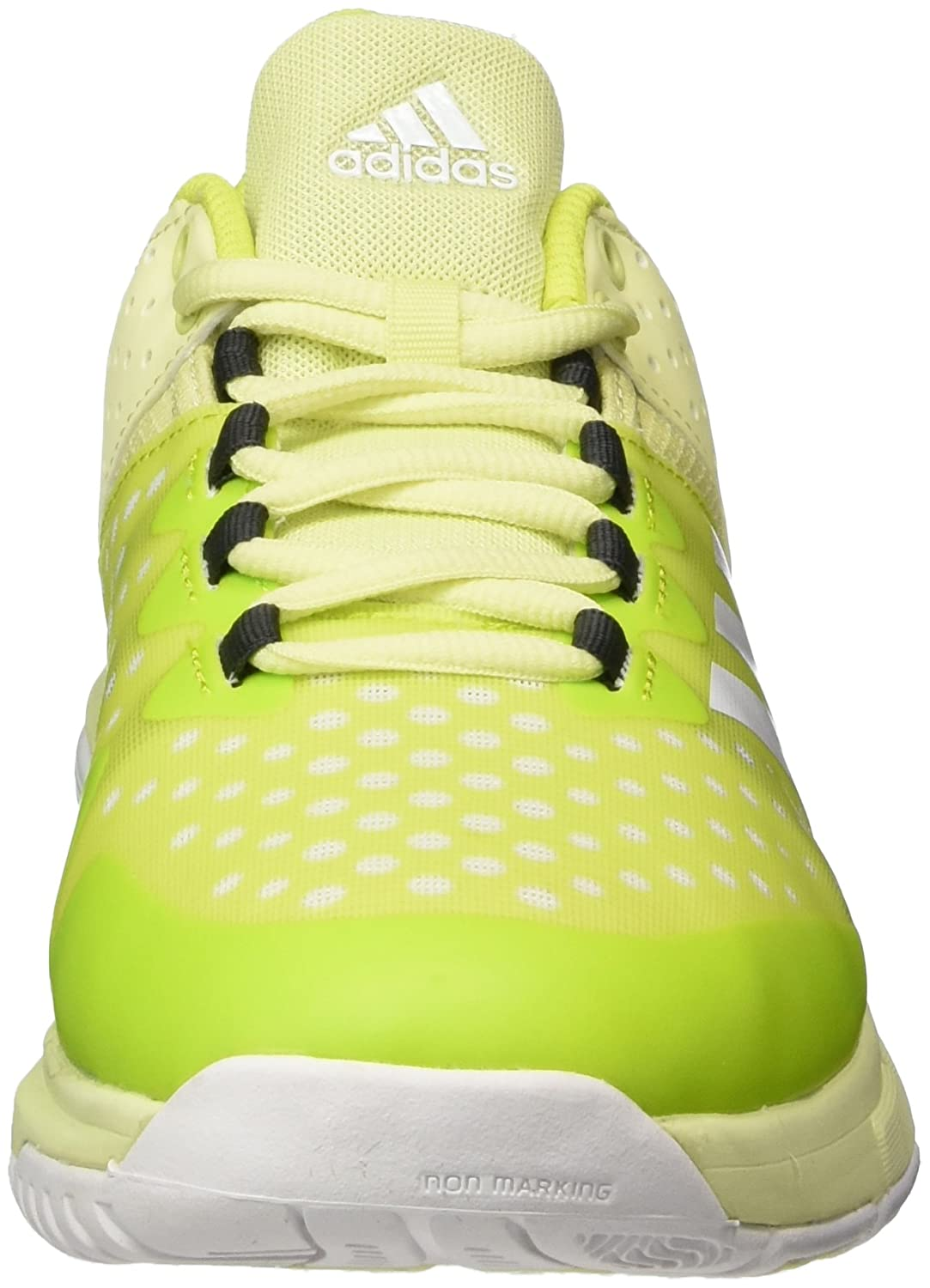 Amazon.com | adidas Performance Womens Court Stabil Trainers - Yellow | Fitness & Cross-Training