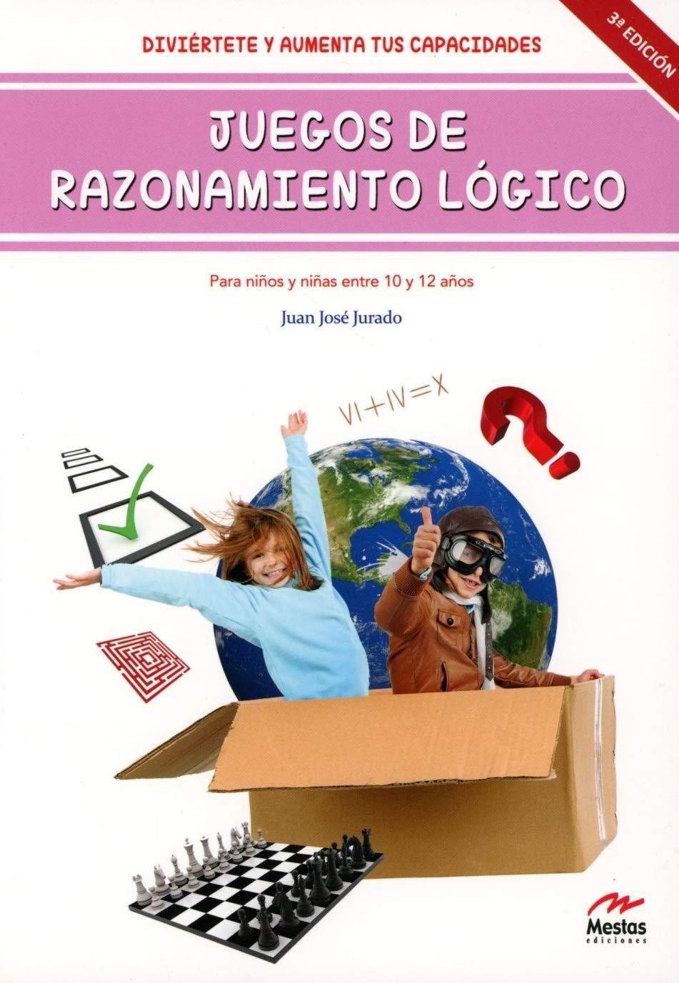 Juegos de Razonamiento Lógico II de 10 a 12 años Desarrolla Tu Ingenio: Amazon.es: J.J. Jurado: Libros