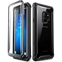 Samsung Galaxy S9 case, i-Blason [Ares] Full-Body Rugged Clear Bumper Case with Built-in Screen Protector for Samsung…