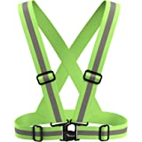 Travelwey Safety Gear Reflective Vest High Visibility Day And Night for all Outdoor Activities …