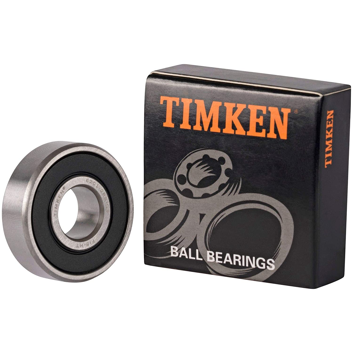 2pcs Ball Bearing 6201-2RS 12x32x10mm Rubber Sealed Deep Groove 6201RS Bearings