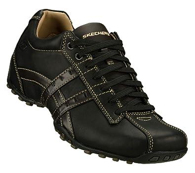 Skechers Citywalk Midnight Mens Shoes Wide Width Black 12 W