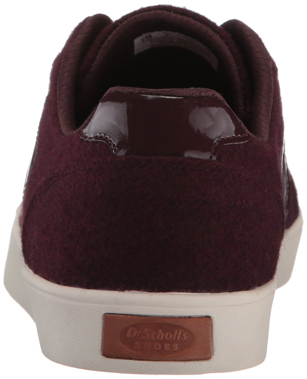 Dr. Scholl's Shoes Women's Madi Chevron B(M) Fashion Sneaker B06XD3SN4Z 6.5 B(M) Chevron US|Merlot Swartz Fabric 608ba4