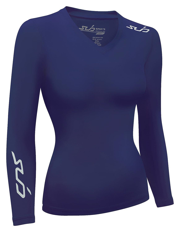 SUB Sports DUAL All Season Womens Compression Top - Long Sleeve Base Layer