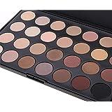 Pure Vie® 28 Colori Palette Ombretti Cosmetico Tavolozza per Trucco Occhi - Adattabile a Uso Professionale che Privato