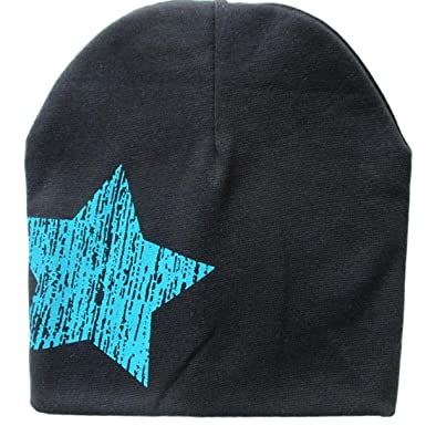 bc4371c5298 Kingko® Cute Infant Cotton Hat Stars Printed Baby Beanie For Boys Girls  Cotton Knit Hat