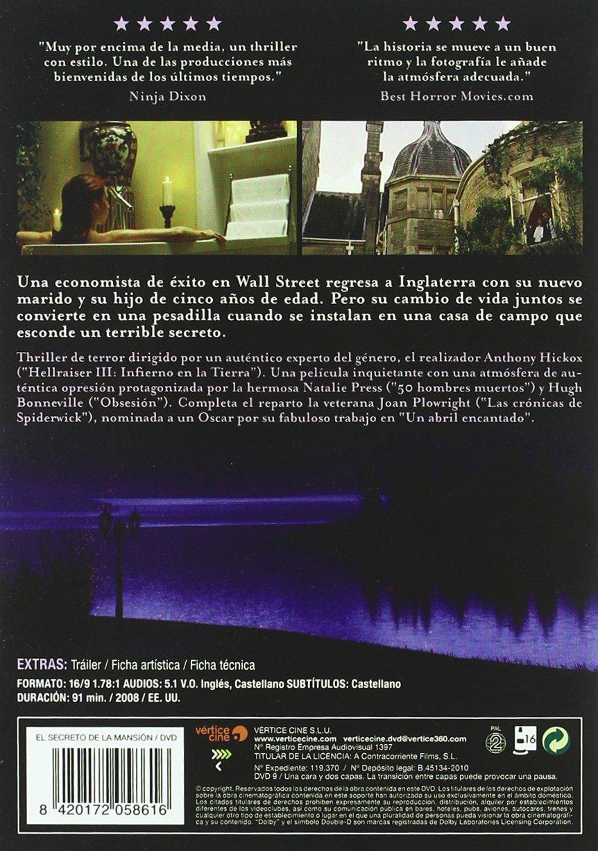 El secreto de la mansion [DVD]: Amazon.es: Natalie Press ...
