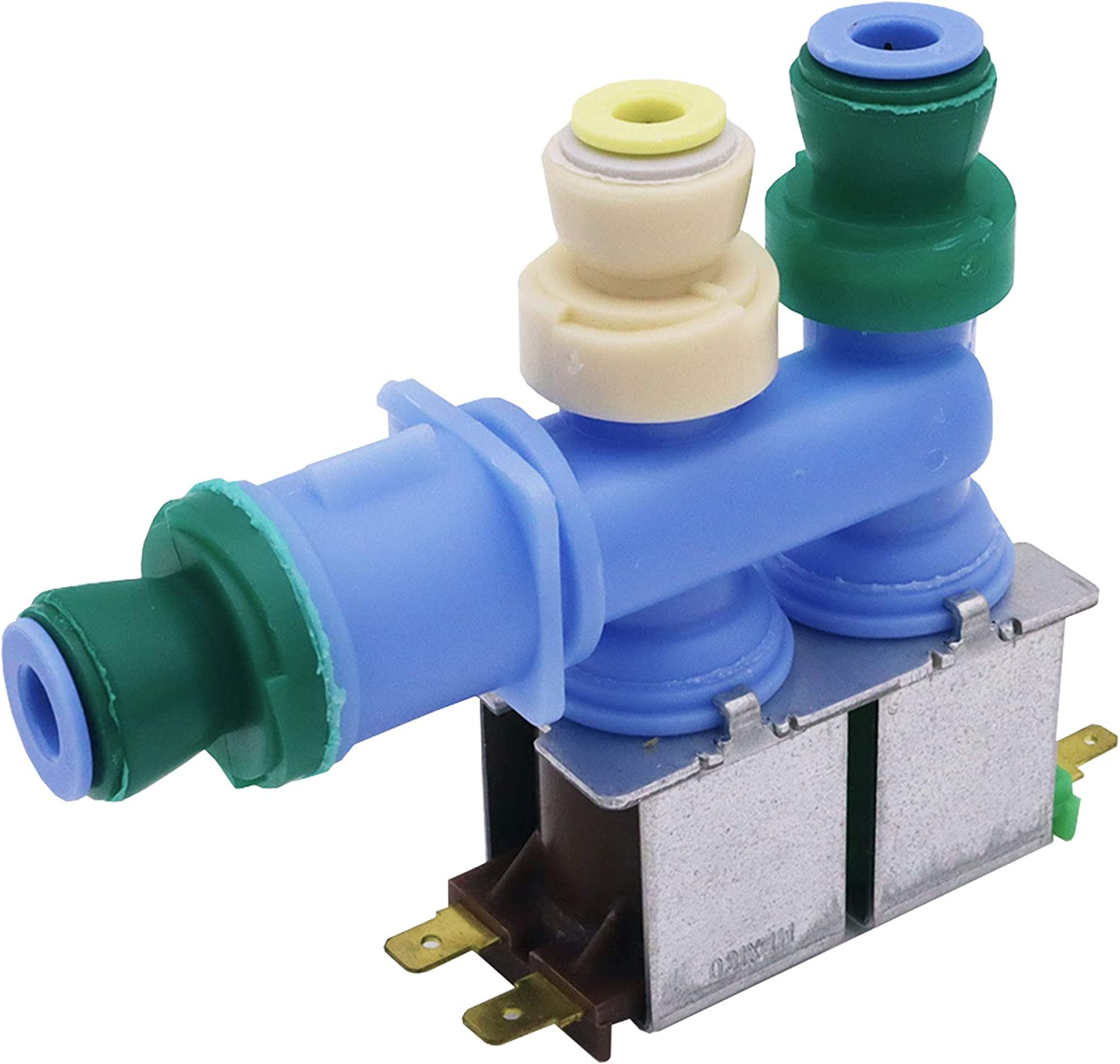 What's Up? W10312696 Water Inlet Valve Compatible for Whirlpool Washer Replace AP6019288 PS11752594