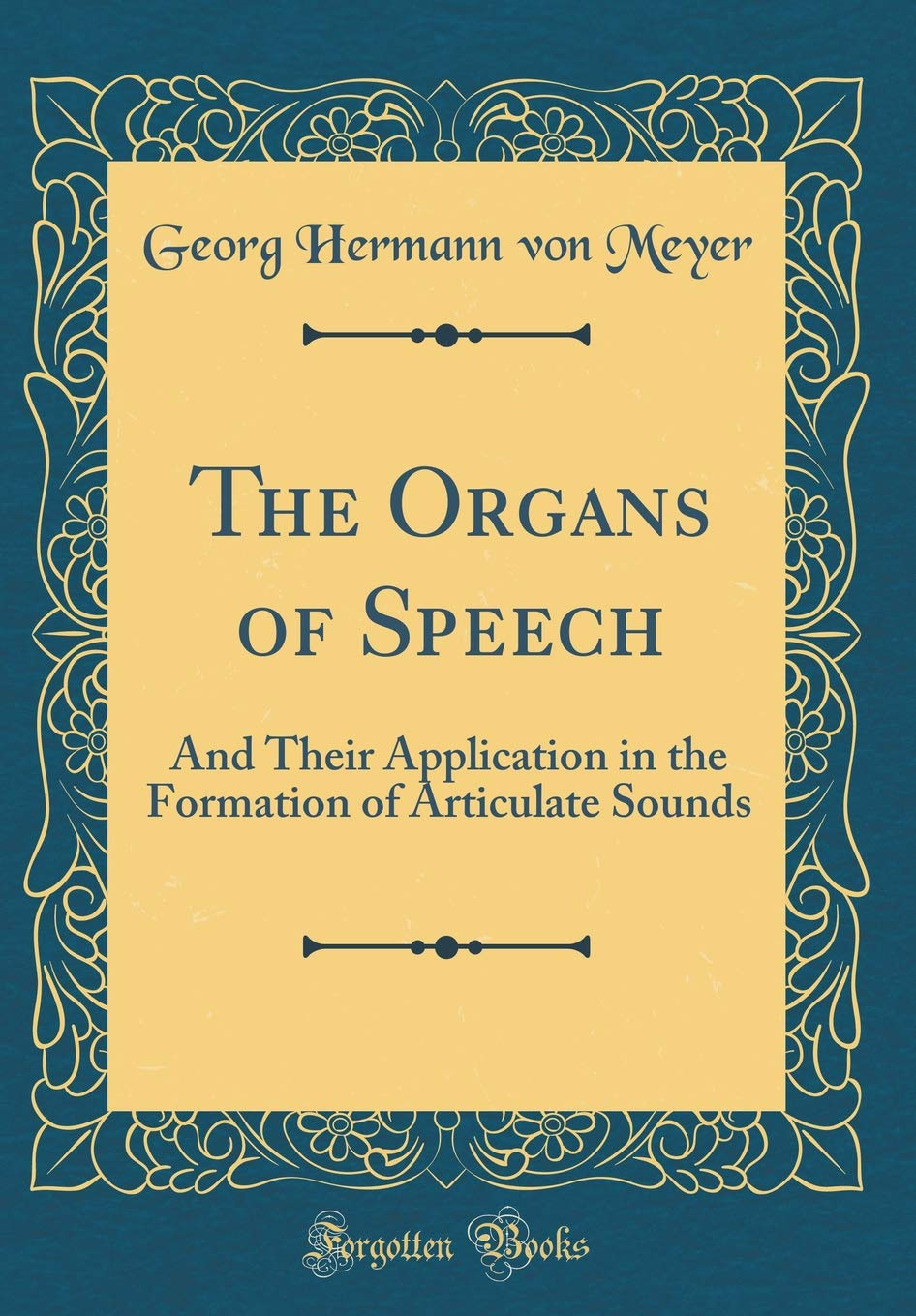 what are organs of speech