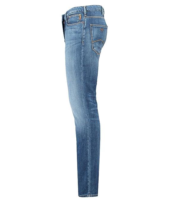Amazon.com: Emporio Armani Mens Slim Jeans 3G1J06 1D5QZ ...