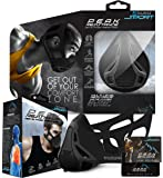 Aduro Sport Workout Training Mask - for Running Biking Training and Fitness, Achieve High Altitude Elevation Effects with 4 Level Air Flow Regulator [Peak Resistance]