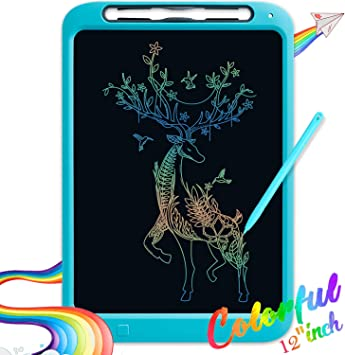 Tecboss LCD Writing Tablet Colorful Large Screen Electronic Digital Drawing