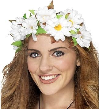 NET TOYS Sujeción Cabello Floral Corona Flores Hippie Adorno ...