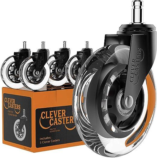 Amazon.com: Caster repuesto de rueda para sillas de oficina ...