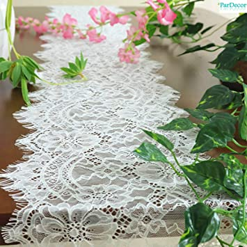 shop best sellers skate shoes 100% top quality Amazon.com: Vintage-Lace-Table-Runner 9x108-Inch White Lace ...