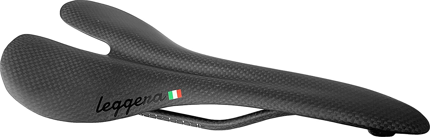 leggera Carbon Fiber Road Bike Saddle 90g, Rated for 100kg
