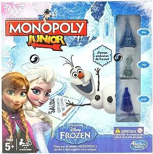 Hasbro - Juego de Mesa Monopoly Junior con diseño Frozen ...