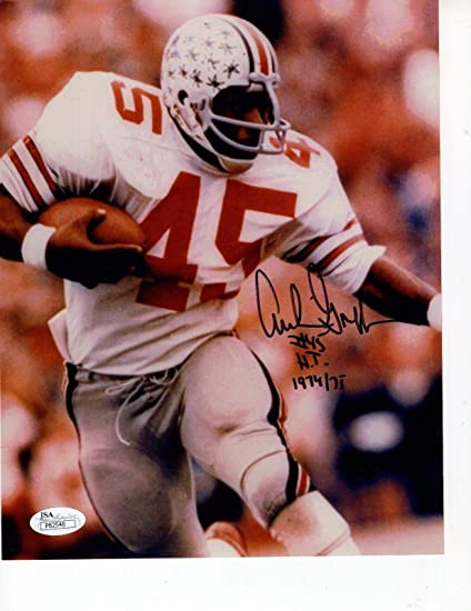 c4aa143c799 Archie Griffin Signed Photo - 8x10 +COA HEISMAN WINNER - JSA Certified -  Autographed College