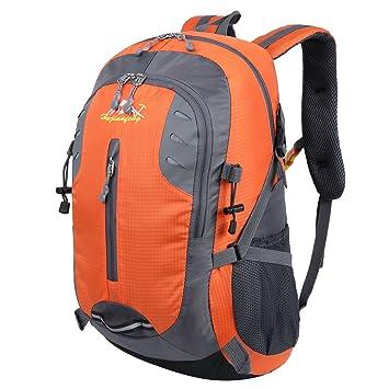 HWJIANFENG 30L Mochilas de Senderismo para Montaña de Acampadas de Nylon Mochilas de Excursion para Viajes