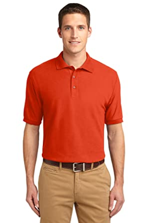 ce518ced Port Authority Silk Touch Polo with Pocket. K500P at Amazon Men's ...