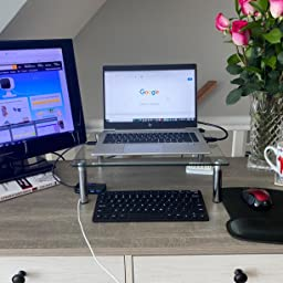 Amazon Com Macally 2 4g Mini Wireless Keyboard Ergonomic Comfortable Small Keyboard For Windows Pc Computer Or Laptop Tablet Smart Tv Plug Play Compact Keyboard 12 Multimedia Hot Keys