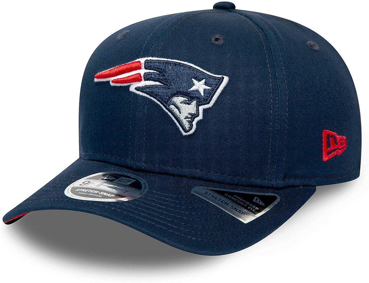 New Era Cappellino 9Fifty Stretch Patriots OTCEra Berretto Baseball NFL cap Snapback