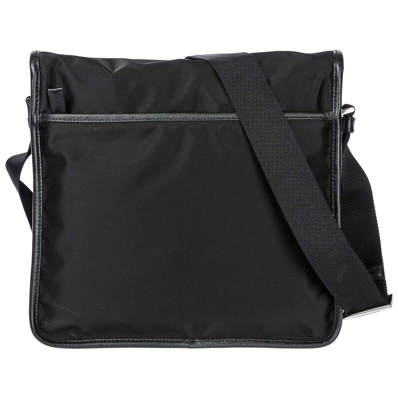 f5e9620dd27063 Amazon.com | Prada Nylon Messenger Bag with Steel Hardware | Messenger Bags