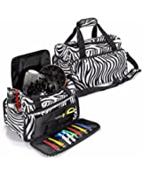 LuckyFine Salon Hair Tools Hairdressing Bag Carry Case Diaper Duffle Clipper Box Travel Luggage