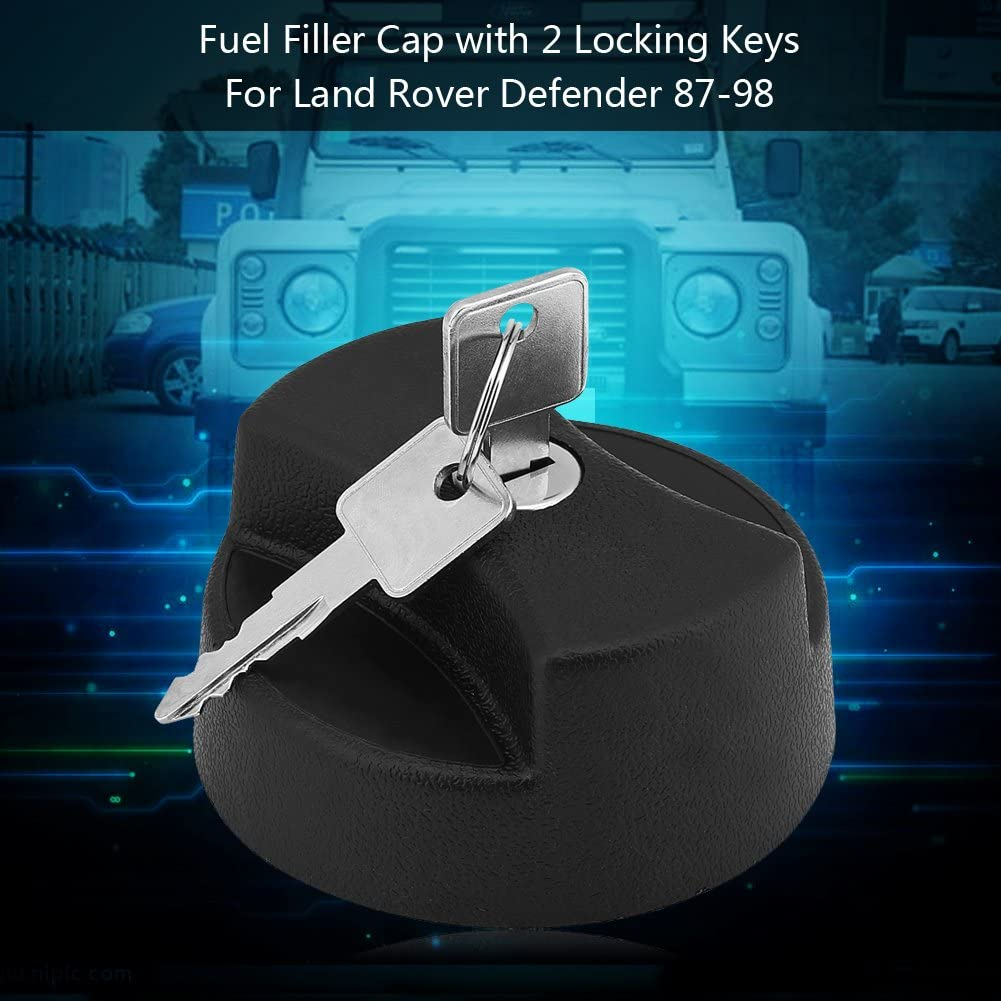 Kimiss car fuel cap fuel cap with 2 locking keys for 87-98 STC4072