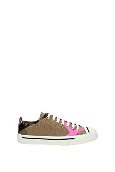 Burberry Sneakers Donna - Tessuto (4066353) 35 EU  Amazon.it  Scarpe e borse d150b0d1237