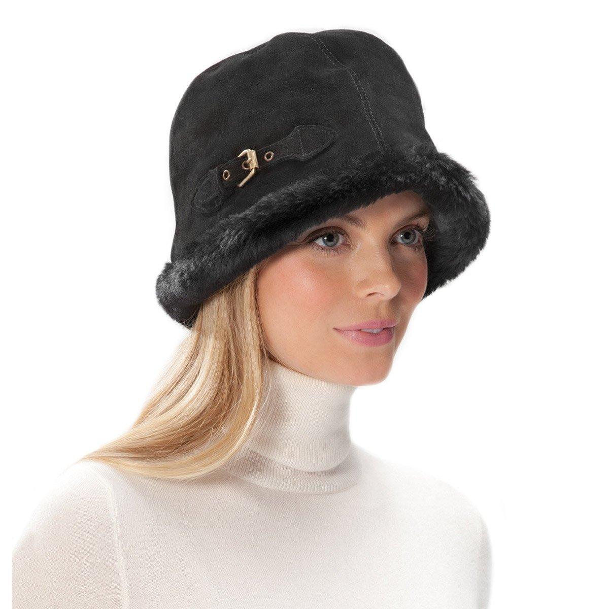 Eric Javits Luxury Fashion Designer Women's Headwear Hat - Vail - Black