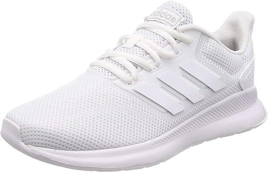 adidas Runfalcon, Running Shoe Mujer-Zapatillas de Deporte, Blanco (FTWR White/FTWR White/Core Black), 36 EU: Amazon.es: Zapatos y complementos