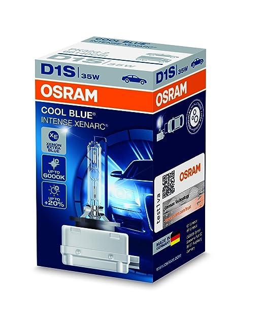 5 opinioni per Faro allo xeno OSRAM XENARC COOL BLUE INTENSE D1S HID lampada a scarica,