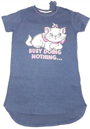 269362309 ... to Lounge Ladies Girls Disney Aristocat Marie The Cat Pyjamas  Nightshirt T-Shirt Nightdress Nightie Sold by Bend The Trend2 Navy:  Amazon.co.uk: Clothing