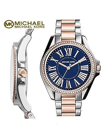 d0466cc4a2a1 Amazon.com  Michael Kors  Kacie  Crystal Bezel Bracelet Watch