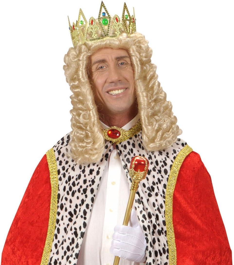 Conjunto de corona de rey con corona de Príncipe joyas soulcats Reina corona del Carnaval corona princesa de carnaval: Amazon.es: Juguetes y juegos