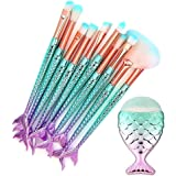 Makeup Brushes Set 11pcs Makeup Brush Cosmetic Brushes Eyeshadow Eyeliner Blush Brushes