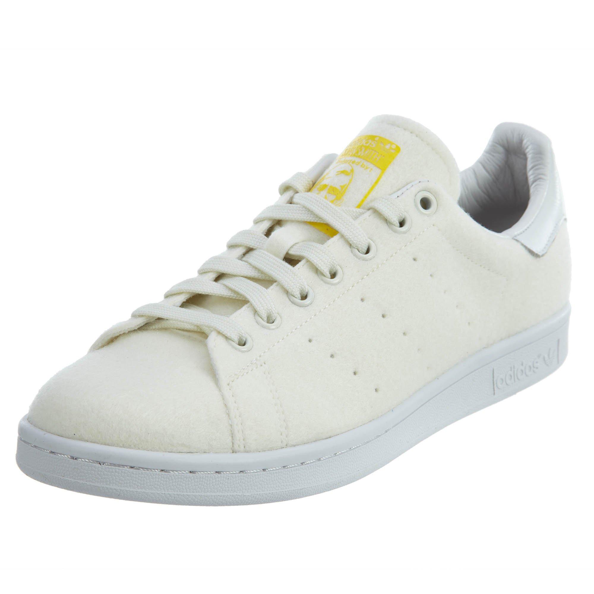 adidas Mens PW Stan Smith Tennis Neo WhiteOff White Fabric Size 10 Athletic Sneakers  Schlussverkauf