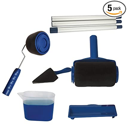 Amazon Com 5pcs Set Wall Painting Tools Paint Roller Paint Brush