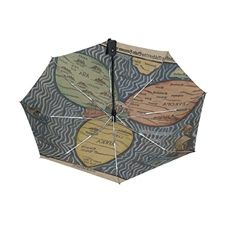 Lavovo bunting clover leaf world map umbrella double sided canopy lavovo bunting clover leaf world map umbrella double sided canopy auto open close foldable travel rain umbrellas amazon sports outdoors gumiabroncs Gallery