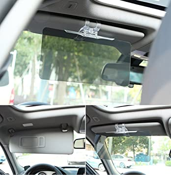 Amazon.com: Follicomfy Car Windshield Sun Visor Day & Night ...