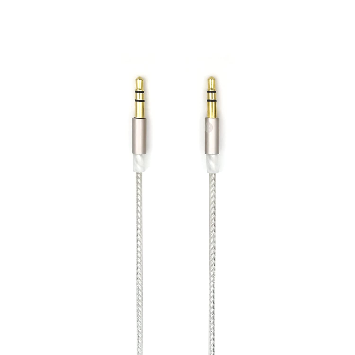 Amazon.com: Sukira HIFI cable for Beyerdynamic T1 2nd / T5p Second Generation headphones Balance Line (4-pin XLR Male) Upgrade Cable, Silver Plated Wire ...