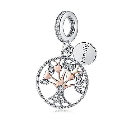 NEU Genuine Sterling Silber Perle Anhänger Charm für Armbänder Charm