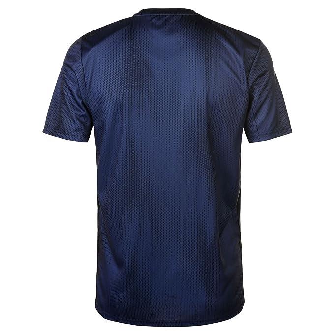 adidas Camiseta Manchester United FC Tercera Equipación 2018-2019 Collegiate navy-Night navy-Matte gold: Amazon.es: Deportes y aire libre