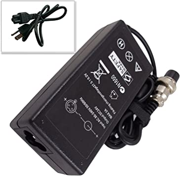 Details about  /Battery Charger Black Electric Scooter Parts Sporting Two Wheel Durable