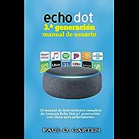 Echo Dot 3.ª generación manual de usuario: El