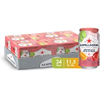 Sanpellegrino Italian Sparkling Drink, Prickly Pear and Orange, 11.15 fl oz. Cans (Pack of 24)