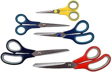 "Long 14/"" Scissors Scrapbooking Hobby--FREE 8/"" Multipurpose Scissors w// Purchase"