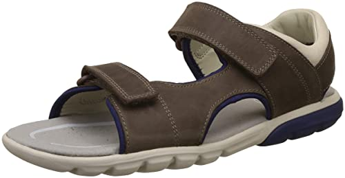 fb6764240b Clarks Rocco Wave Kid Leather Sandals in Brown: Amazon.co.uk: Shoes ...