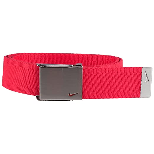 f9b9be5c32 Nike Men's Swoosh Web Belt at Amazon Men's Clothing store: Apparel Belts